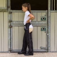 Just Chaps Dri Rider Waterproof Full Chaps with Fleece Lining (Child)